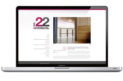 No. 22 Architects Website