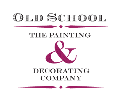 Old School, The Painting & Decorating Company logo.