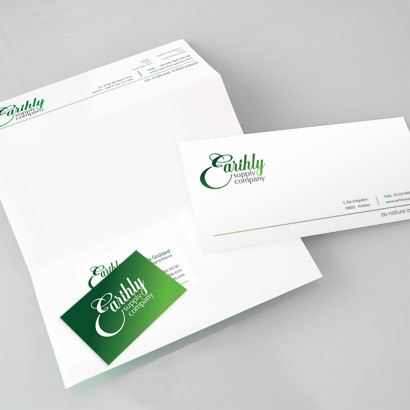 Earthly Suply Company Stationary
